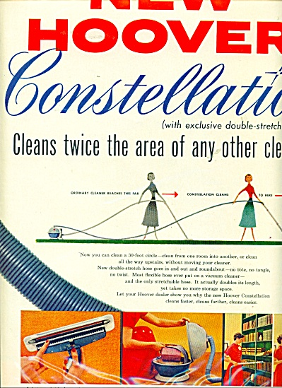 New Hoover Constellation Vacuum Cleaner