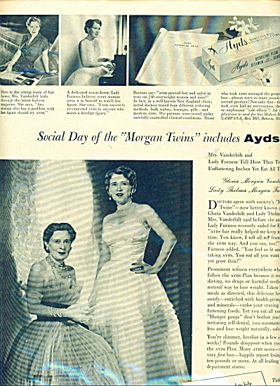 Ayds-first aid for overweight ad 1955 (Image1)