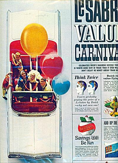 1963 Buick LeSabre Convertible Carnival Ad (Image1)