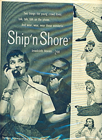 Ship n shore broadcloth blouses  ad (Image1)