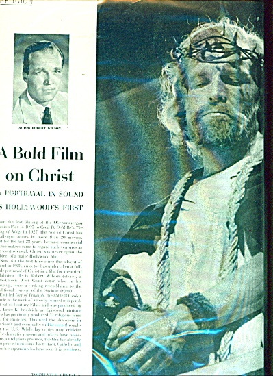 A bold film on Christ (Image1)