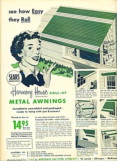 Artcraft awning company ad - 1956 (Image1)