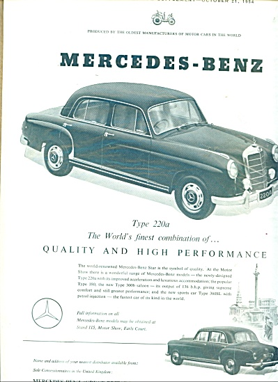 Mercedes-Benz automibile 1954 (Image1)
