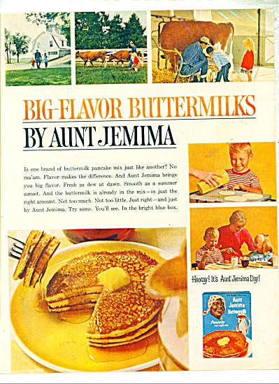 Big flavor buttermilks by Aunt Jemima  ad -64 (Image1)