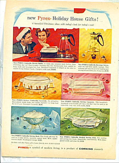 Pyrex - product of Corning research ad - 1950 (Image1)