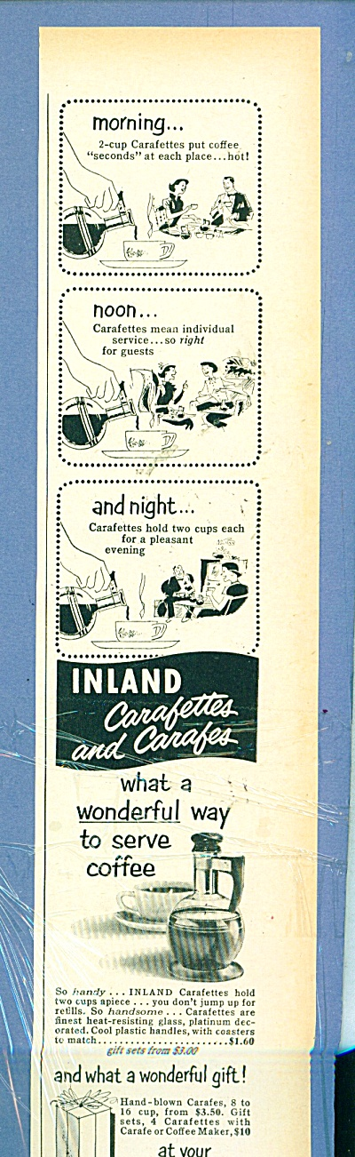 Inland glass works ad 1952 (Image1)