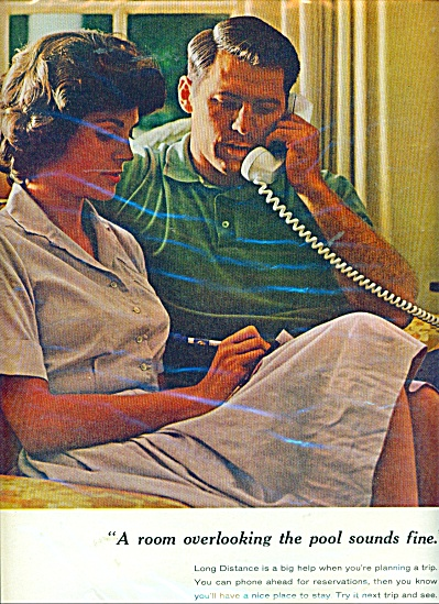 Vintage BELL SYSTEM Telephone AD PLANNING (Image1)