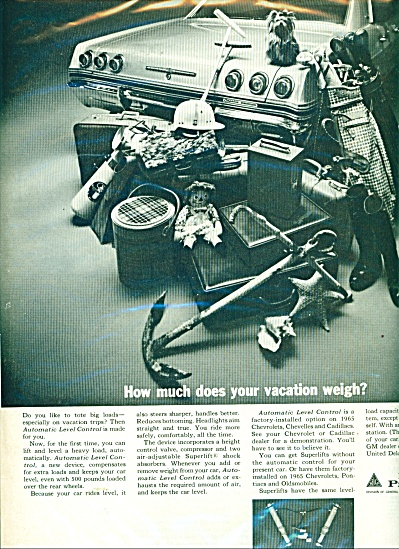 Delco Products Ad - 1965