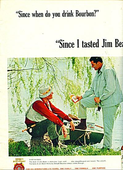 Jim Beam ad -  1965 (Image1)