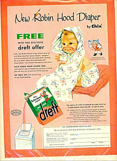 New Robin Hood Diaper by chix - 1956 (Image1)