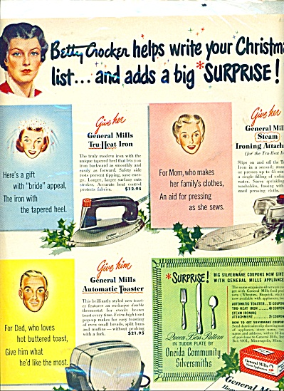 General Mills home appliances.  ad (Image1)