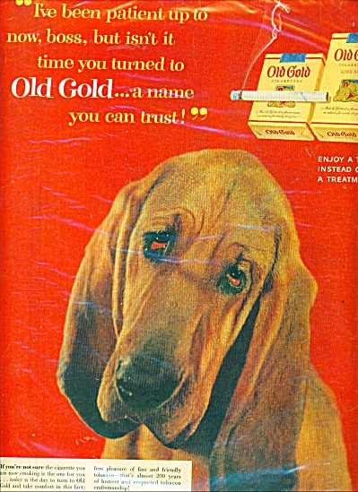 Old Gold cigarettes ad (Image1)
