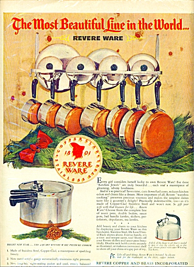 Revere Ware ad - 1949 (Image1)