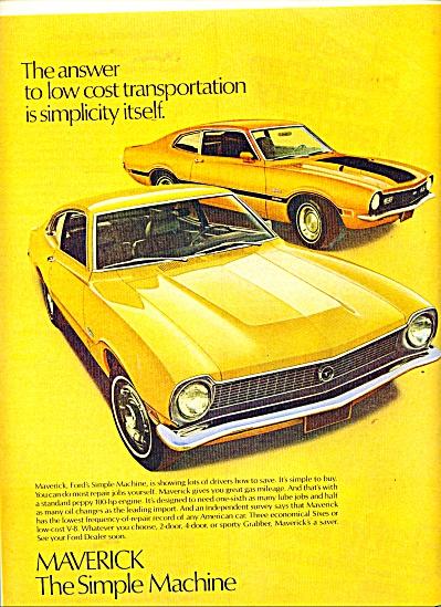 Ford Maverick ad - 1971 (Image1)