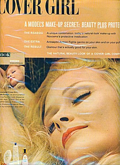 BRIGITTE DEMBEL Ivring Penn MODEL Cover Girl (Image1)