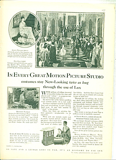 1928 Lux Soap Ad - In Every Great Movie Studio Print  (Image1)