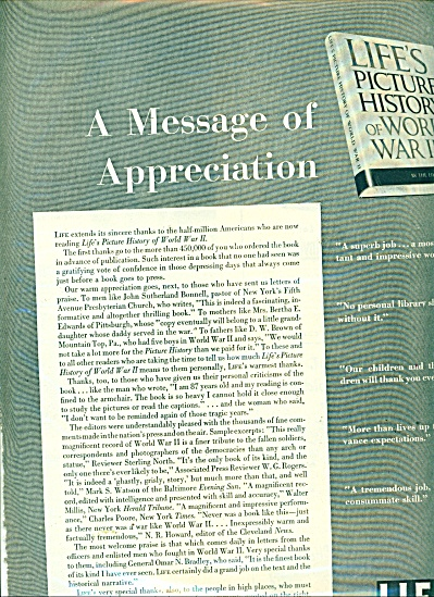 A message of appreciation from Life ad -  50 (Image1)