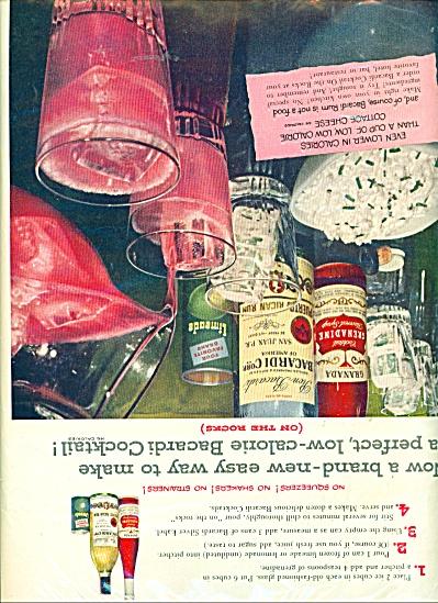 Bacardi Imports Inc. ad - 1954 (Image1)