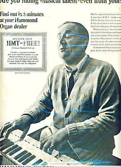 Hammond Organ ad (Image1)
