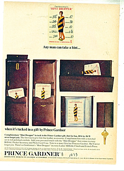 Prince Gardner leather accessories 1973 (Image1)