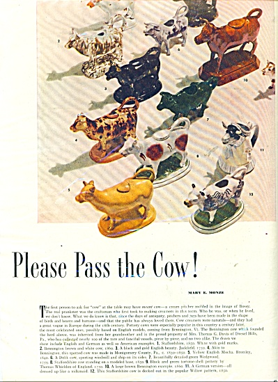 Please pass the cow! ad (Image1)