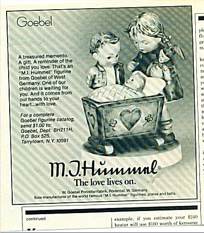 M.I. Hummel figurine ad (Image1)