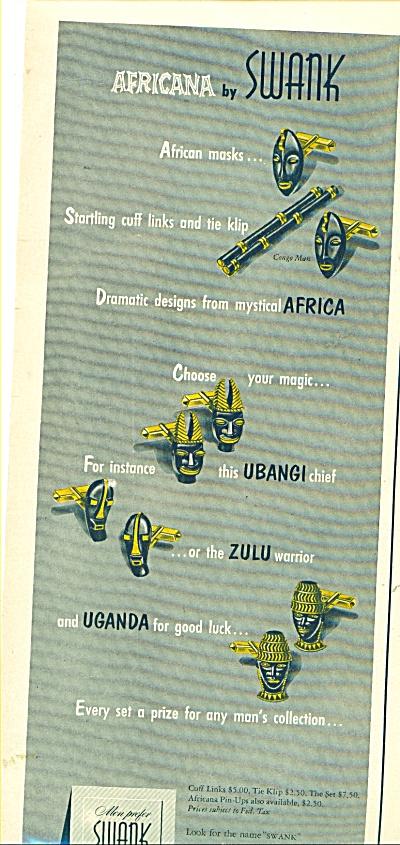 Swank  Inc.,  ad - 1954 (Image1)