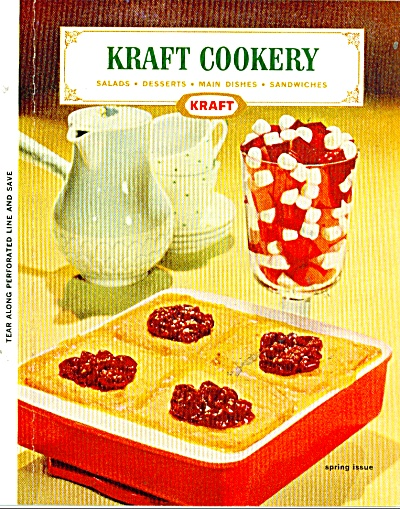 Kraft Cookery Spring Issue Ad