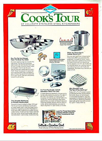 Vollrath Stainless steel ad - 1982 (Image1)