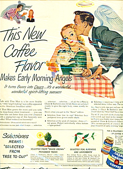 Chase & Sanborn coffee ad SIEBEL ART (Image1)