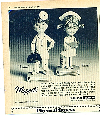 Moppets ad  - 1977 (Image1)