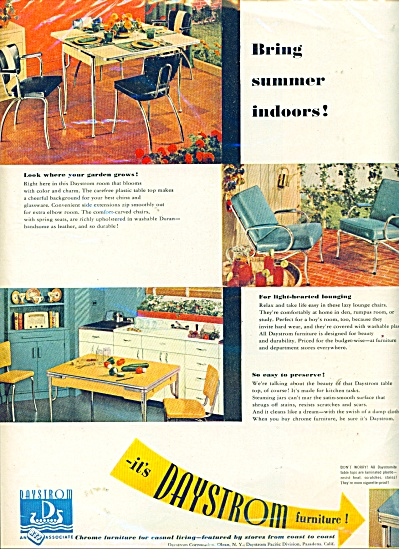 1948 Daystrom furniture ad - 1948 (Image1)