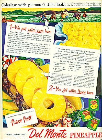 Del Monte Pineapple ad - 1946 (Image1)