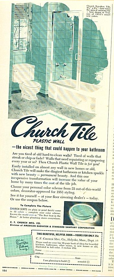 Church tile  ad - 1953 (Image1)