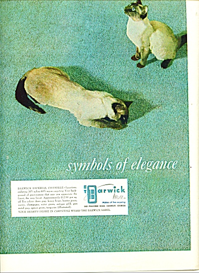 Barwick Mills carpeting ad (Image1)