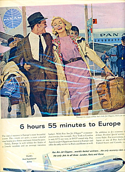 Pan American Jet clippers ad (Image1)