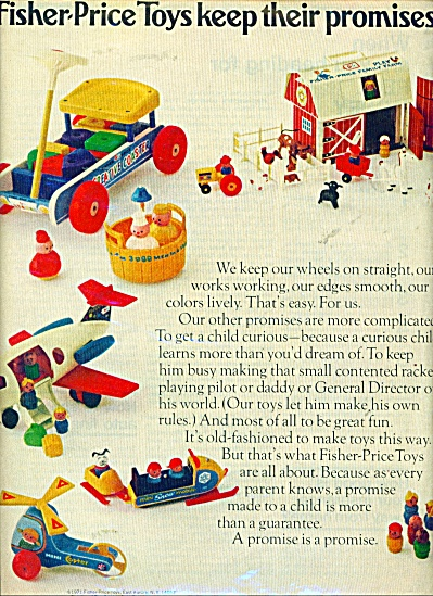 Fisher Price toys ad - 1971 (Image1)