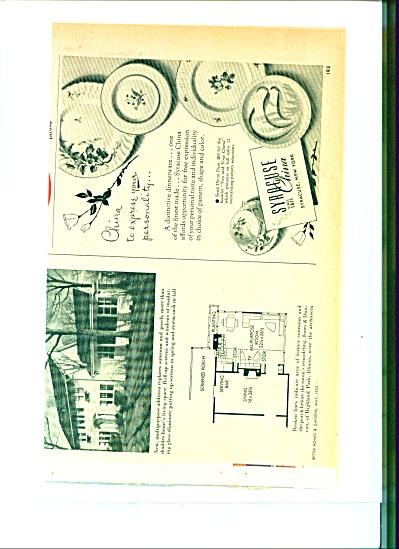 Syracuse China Co.  ad    1952 (Image1)