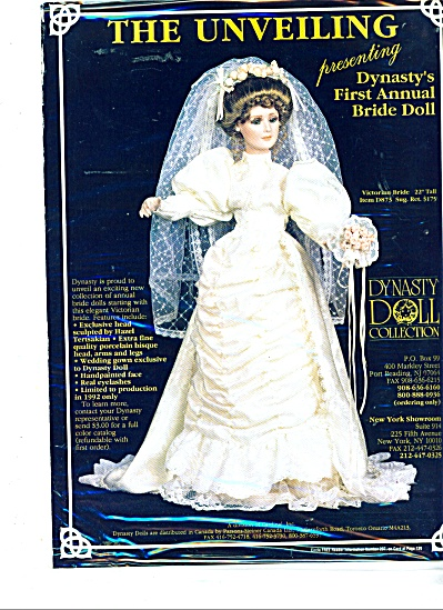 The Unveiling presenting Dynasty doll collect (Image1)