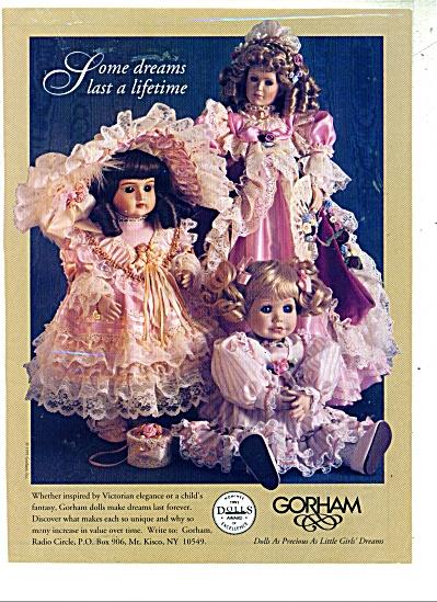 Gorham dolls ad  - 1991 (Image1)