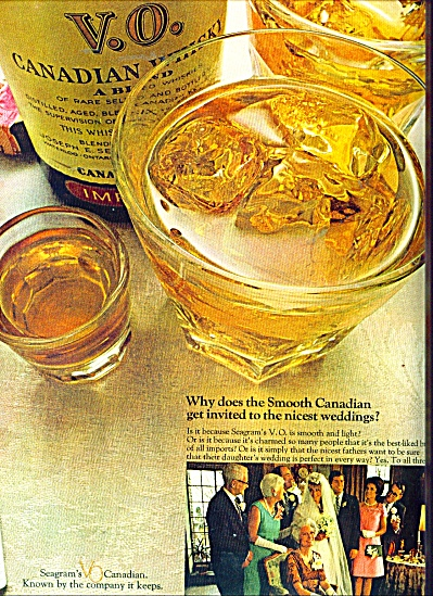 Seagram's Canadian whiskey ad - (Image1)
