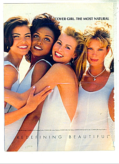 Cover Girl make up ad NIKI TAYLOR Hunter +++ (Image1)