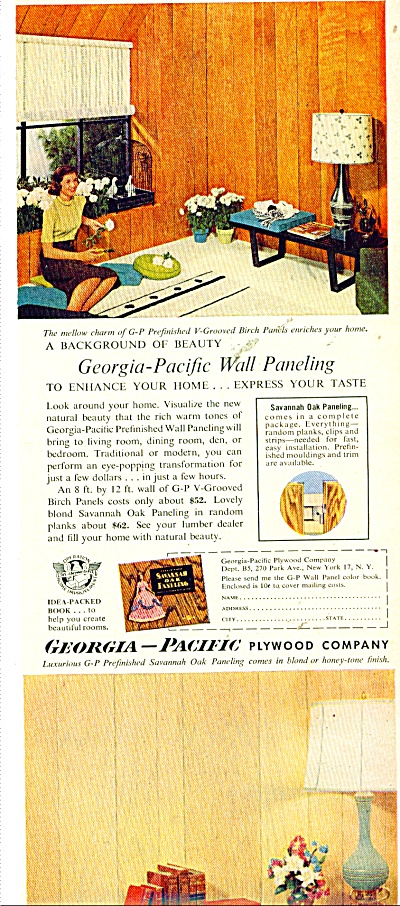 Georgia-Pacific Plywood company ad 1956 (Image1)