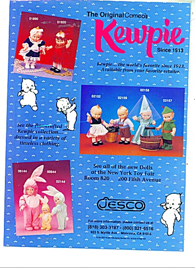 Kewpie doll from Jesco  1991 AD Advertising (Image1)