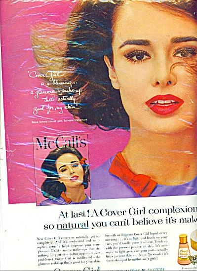 1962 COVER GIRL SONDRA PETERSON Model AD (Image1)