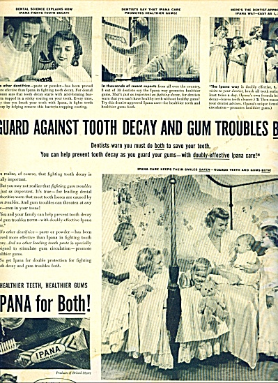 1950 IPANA Tooth Paste Mother - 5 Children (Image1)