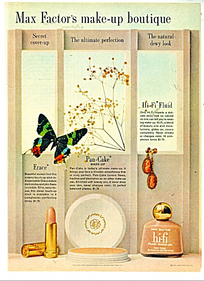 Max Factor's make up boutique ad - 1962 (Image1)