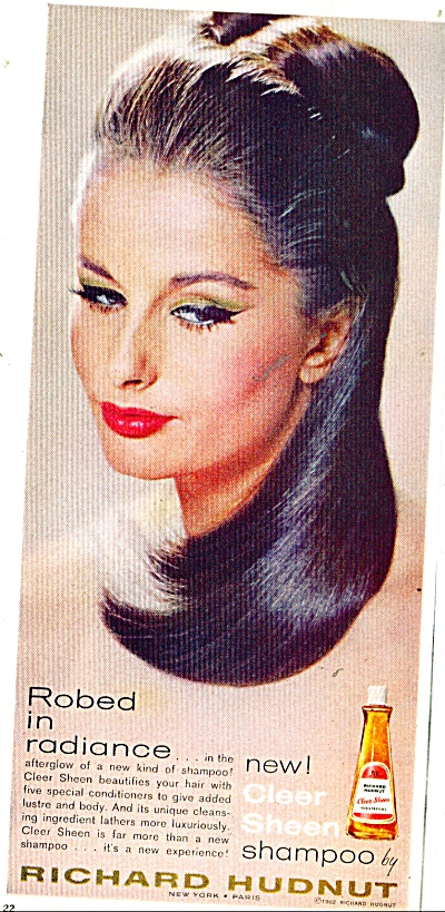 Richard Hudnut shampoo ad - (Image1)
