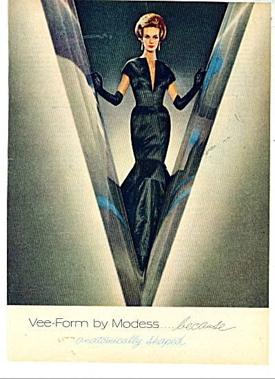 1962 Modess AD Nena Von Schlebrugge Model (Image1)
