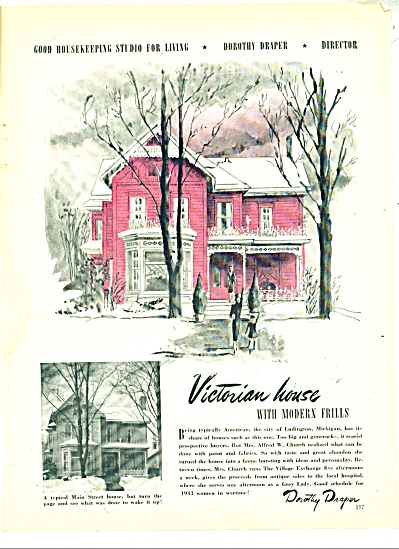 Victorian House with modern frills ad (Image1)